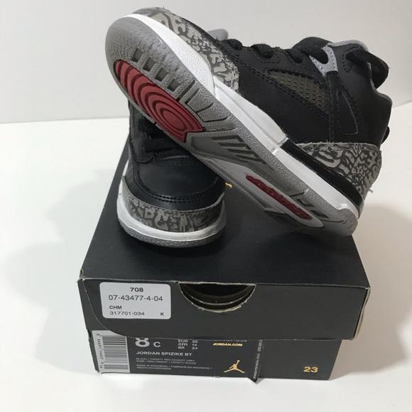 f180cda5d6df Jordan Other - Nike Air Jordan Spizike Toddler 8C